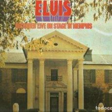 Discos de vinilo: ELVIS PRESLEY. LP. SELLO RCA-LINEATRES. EDITADO EN ESPAÑA. AÑO 1987. Lote 82729720