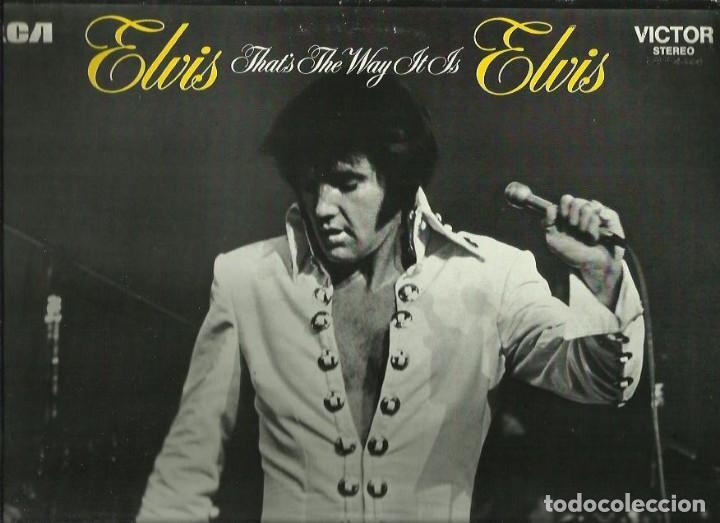 ELVIS PRESLEY. LP. SELLO RCA-LINEATRES. EDITADO EN ESPAÑA. AÑO 1987 (Música - Discos - LP Vinilo - Pop - Rock - Extranjero de los 70)