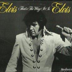 Discos de vinilo: ELVIS PRESLEY. LP. SELLO RCA-LINEATRES. EDITADO EN ESPAÑA. AÑO 1987. Lote 82730296