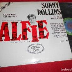 Discos de vinilo: SONNY ROLLINS ALFIE BSO OST LP 1978 IMPULSE GATEFOLD EDICION ESPAÑOLA SPAIN. Lote 82738292