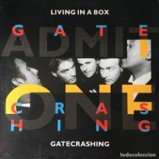 Discos de vinilo: LIVING IN A BOX - GATECRASHING . 1989 CHRYSALIS . Lote 82749844