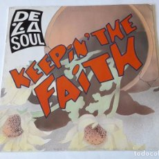 Discos de vinilo: DE LA SOUL - KEEPING THE FAITH - 1991. Lote 82752392