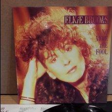 Discos de vinilo: ELKIE BROOKS. NO MORE THE FOOL. LP / MERCURY - 1986 / LUJO. ****/****. Lote 82758336