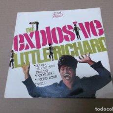 Discos de vinilo: LITTLE RICHARD (EP) LAND OF A THOUSAND DANCES AÑO 1967. Lote 82765344