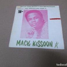 Discos de vinilo: MACK KISSOON (SN) GET DOWN WITH IT SATISFACCION AÑO 1969 - PROMOCIONAL. Lote 82771612