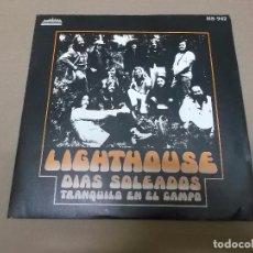 Discos de vinilo: LIGHTHOUSE (SN) SUNNY DAYS AÑO 1973. Lote 82785592