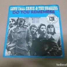 Discos de vinilo: LONG TALL ERNIE & THE SHAKERS (SN) DO YOU REMEMBER AÑO 1977 – EDICION ALEMANA. Lote 82786132