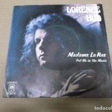 Discos de vinilo: LORENCE HUD (SN) MADAME LA RUE AÑO 1974. Lote 82786192