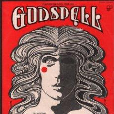 Discos de vinilo: GODSPELL - VERSION INGLESA ORIGINAL (VARIOS) - LP BELL RECORDS DE 1972 RF-2754, PERFECTO ESTADO. Lote 82822180