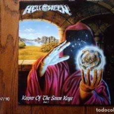 Discos de vinilo: HELLOWEEN - KEEPER OF THE SEVEN KEYS PART I. Lote 82823104