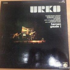 Discos de vinilo: LP URKO /HEMEN GAUDE CON ENCARTES PORTADA DOBLE . Lote 82830156