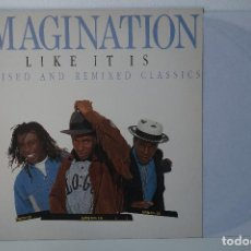 Discos de vinilo: LP - IMAGINATION, LIKE IT IS REVISED AND REMIXED CLASSICS (1989). Lote 82840328