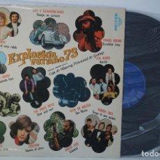 Disques de vinyle: LP - EXPLOSIÓN VERANO '73 (DISCOS BELTER) CRISTINA, CHELE, LOS 3 SUDAMERICANOS...ENTRE OTROS. Lote 82842560