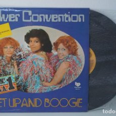 Discos de vinilo: LP - SILVER CONVENTION, GET UP AND BOOGIE - 1976 (Nº 1 USA). Lote 82845224