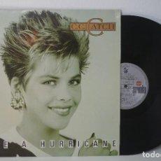 Discos de vinilo: LP - C. C. CATCH - LIKE A HURRICANE (1987) . Lote 82846460