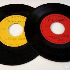 Discos de vinilo: FUNDADOR DISCO SORPRESA ? LOT 2 DISCOS ?(SPAIN 1965)? VINILO 45 RPM ? . Lote 82872804