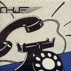 Discos de vinilo: U H F - MOGOLLON / LP 33 RPM / EDITADO SHANTI RECORDS. Lote 82875004