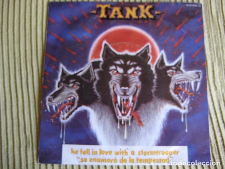 TANK SG ZAFIRO 1982 STORMTROOPER +1 NWOBHM - MOTORHEAD - VENOM - IRON MAIDEN (Música - Discos - Singles Vinilo - Heavy - Metal)