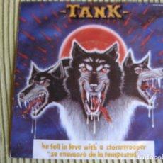 Discos de vinilo: TANK SG ZAFIRO 1982 STORMTROOPER +1 NWOBHM - MOTORHEAD - VENOM - IRON MAIDEN. Lote 192621780