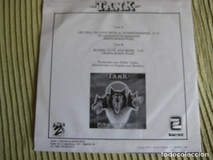 Discos de vinilo: TANK Sg ZAFIRO 1982 stormtrooper +1 NWOBHM - MOTORHEAD - VENOM - IRON MAIDEN - Foto 2 - 192621780