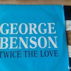 Discos de vinilo: SINGLE (VINILO) -PROMO-DE GEORGE BENSON AÑOS 80. Lote 82952840