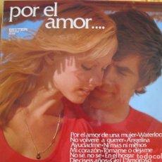Discos de vinilo: LP - VOCES UNIDAS - POR EL AMOR (SPAIN, DISCOS BELTER 1974). Lote 82957432