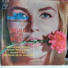 Discos de vinilo: RAY CONIFF- DÍGALO CON MÚSICA. CBS 1962. Lote 82976208