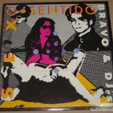 Discos de vinilo: BRAVO & DJ'S ?– SEX O SENTIDO , YAS FLI. RECORDS ?– YF-006. Lote 82986288
