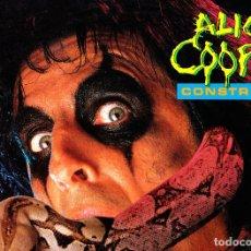 Discos de vinilo: CONSTRICTOR. ALICE COOPER. LP VINILO. 1986. Lote 82988592