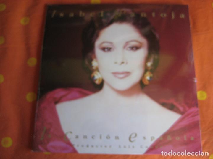 ISABEL PANTOJA DOBLE LP RCA 1990 - LA CANCION ESPAÑOLA - THE ROYAL PHILARMONIC ORCHESTRA LUIS COBOS (Música - Discos - LP Vinilo - Flamenco, Canción española y Cuplé)