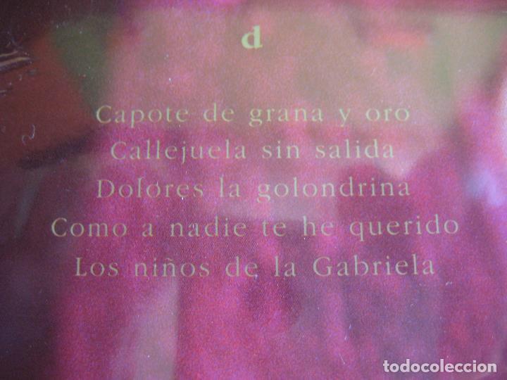Discos de vinilo: ISABEL PANTOJA DOBLE LP RCA 1990 - LA CANCION ESPAÑOLA - THE ROYAL PHILARMONIC ORCHESTRA LUIS COBOS - Foto 6 - 83000692