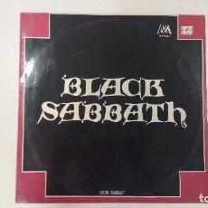Discos de vinilo: BLACK SABBATH - LP - SÁBADO NEGRO - EDITADO EN LA ANTIGUA UNIÓN SOVIÉTICA, URSS, RUSIA.. Lote 83024836