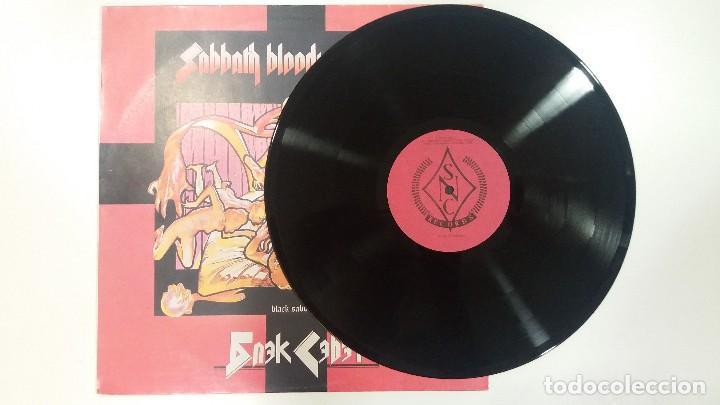 Discos de vinilo: LP - BLACK SÁBBATH BLOODY- RUSO - EDITADO EN LA URSS, RUSIA. ESTADO NM+! - Foto 3 - 83026316