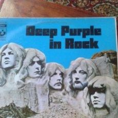 Discos de vinilo: DEEP PURPLE IN ROCK (LP). Lote 83028936