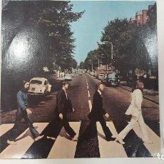 Discos de vinilo: LP THE BEATLES - ABBEY ROAD- EDITADO EN RUSIA, URSS. ETIQUETA ROJA!!!. Lote 83031272