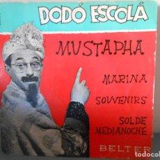 Discos de vinilo: DODO ESCOLA - MUSTAPHA. Lote 83041000