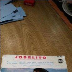Discos de vinilo: MAGNIFICO DISCO DE JOSELITO. Lote 83058556
