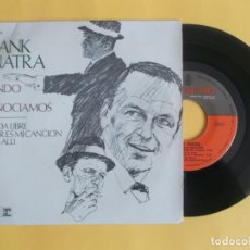 Discos de vinilo: FRANK SINATRA - EPE 4 CANCIONES - MUSICA VINILO. Lote 83063876