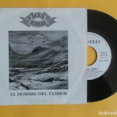 Discos de vinilo: MAS BIRRAS - EL HOMBRE DEL TAMBOR - MUSICA SINGLE VINILO. Lote 83065108