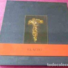 Discos de vinilo: ANA CURRA - EL ACTO - CAJA EDICION LIMITADA. Lote 83065476