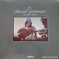 Discos de vinilo: DAVID GRISMAN - THE DAVID GRISMAN ROUNDER ALBUM. Lote 83079772