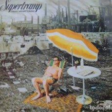 Discos de vinilo: SUPERTRAMP. CRISIS? WHAT CRISIS? AM RECORDS AMLH 68347 LP 1977 SPAIN. Lote 83088436
