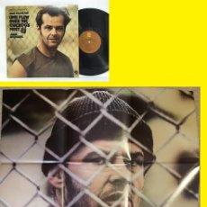 Discos de vinilo: JACK NICHOLSON, JACK NITZSCHE - ONE FLEW OVER THE CUCKOOS NEST 75, RARA 1º EDC USA + POSTER, EXC. Lote 83118116