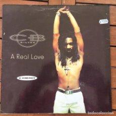 Discos de vinilo: CB MILTON - A REAL LOVE . 1995 MAX MUSIC. Lote 83129404