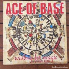 Discos de vinilo: ACE OF BASE - WAITING FOR MAGIC (TOTAL REMIX) . 1993 ESCANDINAVIA . Lote 83130008