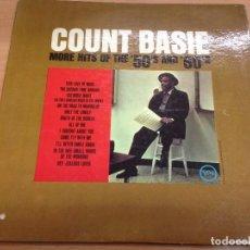 Discos de vinilo: LP COUNT BASIE /MORE HITS OF THE 50'S AND 60'S EDICION USA VERVE . Lote 83133720
