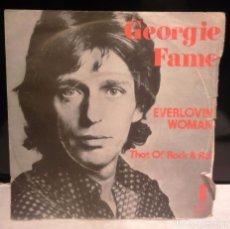 Discos de vinilo: GEORGIE FAME EVERLOVIN' WOMAN SINGLE VINILO 1974 JJ CALE . Lote 83139520