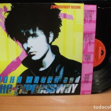 Discos de vinilo: JOHN MOORE AND THE EXPRESSWAY EXPRESSWAY RISING LP SPAIN 1989 PDELUXE. Lote 83143168