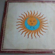 Discos de vinilo: KING CRIMSON - LARKS' TONGUES IN ASPIC - LP - 1973 - ISLAND. Lote 83164612