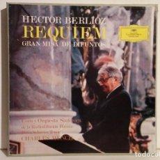 Discos de vinilo: REQUIEM DE BERLIOZ (2 VINILOS). Lote 83177180